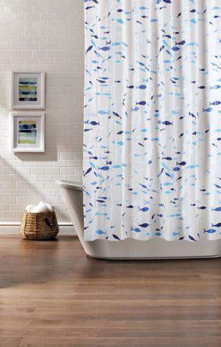 Cleanse Aqua Fish Shower Curtain Product image