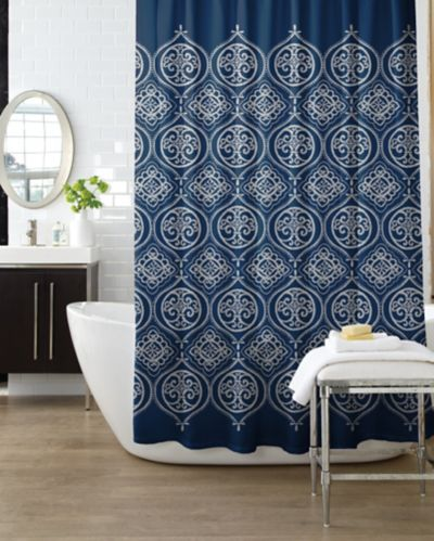 Moroccan Tile Shower Curtain Product image