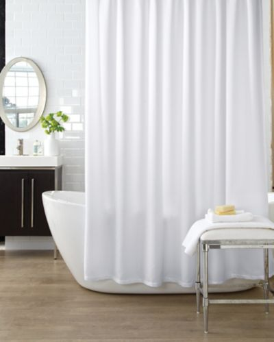 Rideau de douche Cleanse, uni, blanc Image de l'article