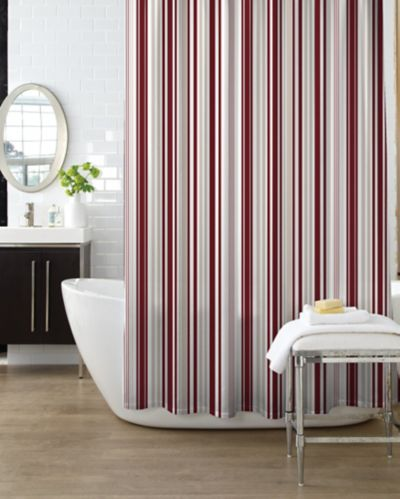 Oxford Stripe Shower Curtain Product image