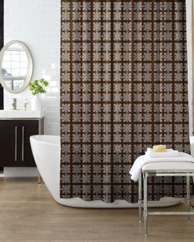 Rideau de douche, carreaux Image de l'article
