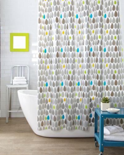 Rideau de douche Cleanse, gouttes d'eau Image de l'article