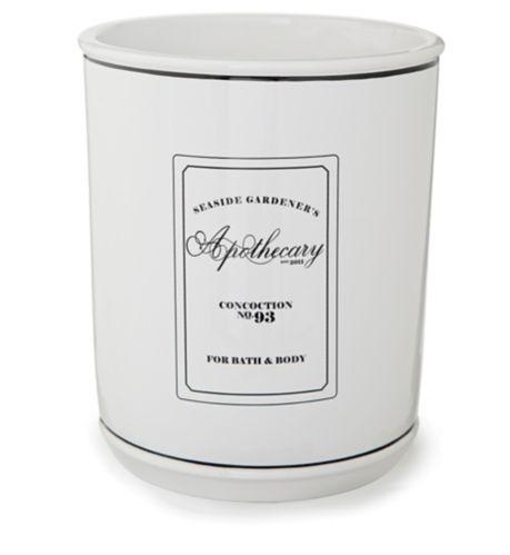Apothecary Ceramic Wastebasket Product image