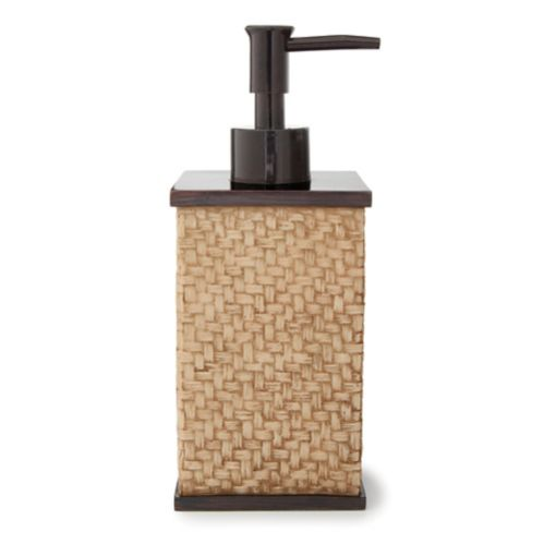 Bamboo Basket Weave Lotion Pump Product image