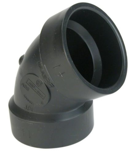 Bow ABS 60-Degree Elbow, 1-1/2-in Product image