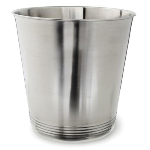 Brushed Metal Wastebasket Product image