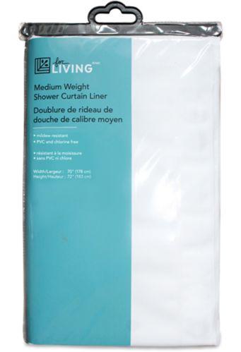 Doublure de rideau de douche de calibre moyen For Living Image de l'article