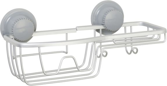 For Living Aluminum Suction Basket Shower Caddy Product image