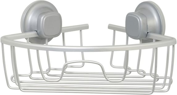 type A Aluminum Suction Corner Shower Caddy Product image