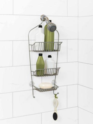 Range-accessoires de douche For Living, nickel Image de l'article