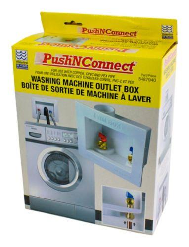 Boîte de sortie Waterline Push N Connect pour laveuse Image de l'article