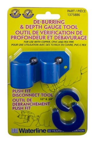 Waterline Push N Connect Disc & Deburring Tool Product image