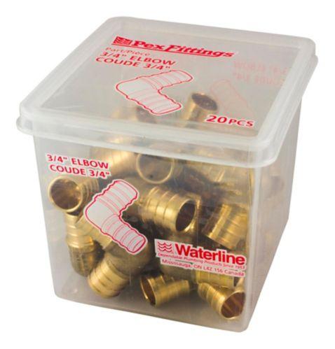Waterline PEX Elbow, 3/4-in, 20-pk Product image