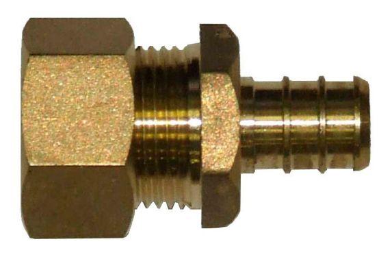 Waterline 1/2-in PEX Copper Tube Compression Product image