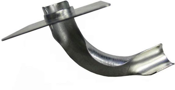 Support de courbe Waterline, métal, onglet, tuyau de 1/2 po Image de l'article