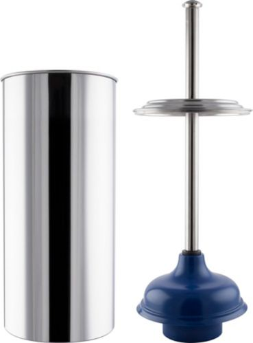 PlumbShop Stainless Steel Plunger with Caddy Product image
