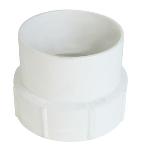 Bow PVC Adapter with Clean-Out Adapter Product image