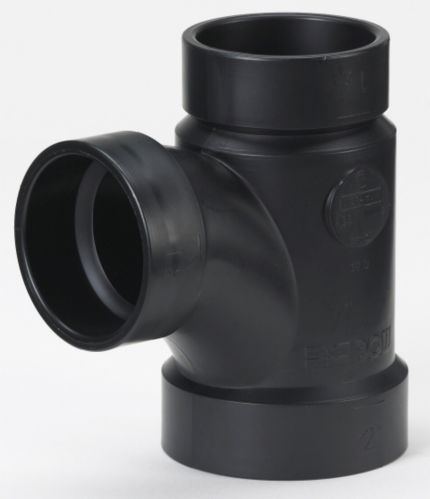 Bow ABS/DWV Sanitary Tee, 2-in x 1-1/2-in Product image