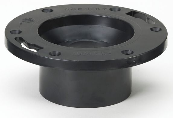 Bow ABS Toilet Flange with Cap Product image
