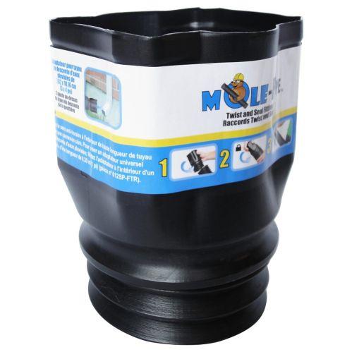 Adaptateur de descente pluviale Twist & Seal MOLE-Pipe, 3 x 4 po Image de l'article