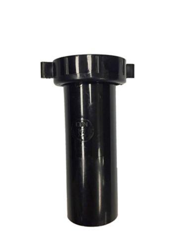 Tube de vidange Plumbshop pour évier, noir, 1, 5 x 4 po Image de l'article