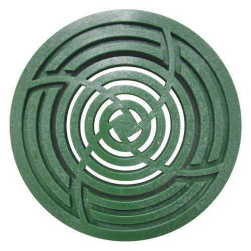 Grille ronde verte, 3 et 4 po Image de l'article