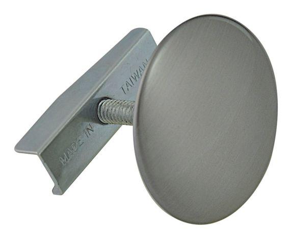 Pastille pour trou de robinet Plumbshop, nickel brossé Image de l'article