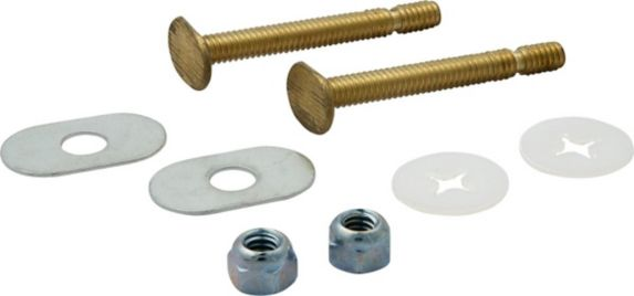 Plumbshop Snap-Off Toilet Bolts, 1/4-in x 2-1/4-in Product image