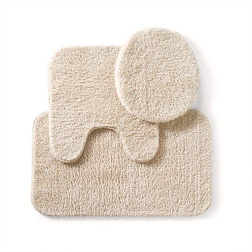 Tapis de bain Cleanse, biscuit, 3 pièces Image de l'article