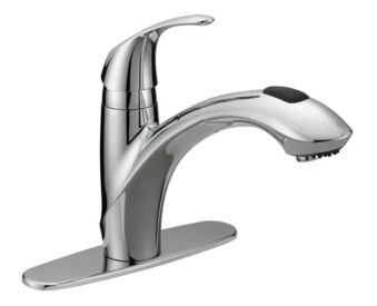 Danze Bravo Chrome Pull Out Kitchen Faucet