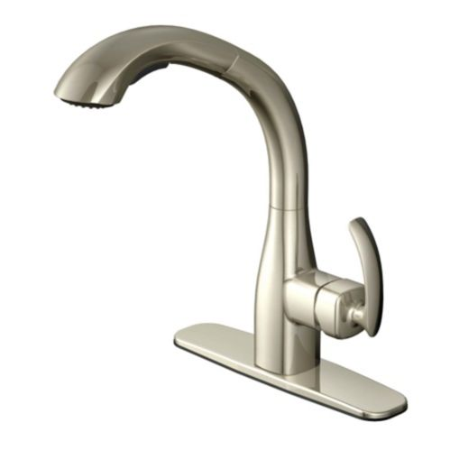 Danze Melrose Pull-Out Kitchen Faucet, Brushed Nickel Product image