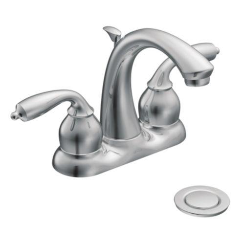 Moen Bayhill Lavatory Faucet, Chrome Product image