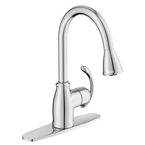Moen Terrace Pull-Out Kitchen Faucet, Chrome Product image