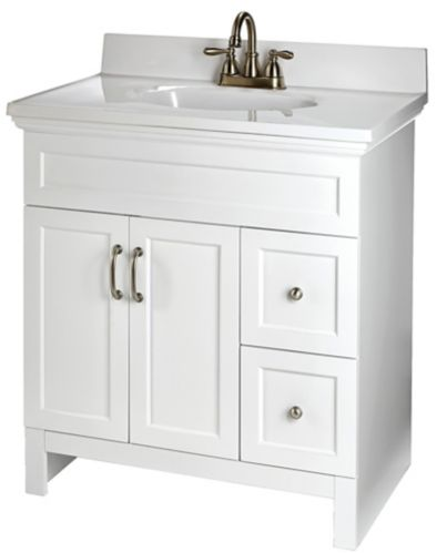 For Living Beacon Hill Vanity, White Product image