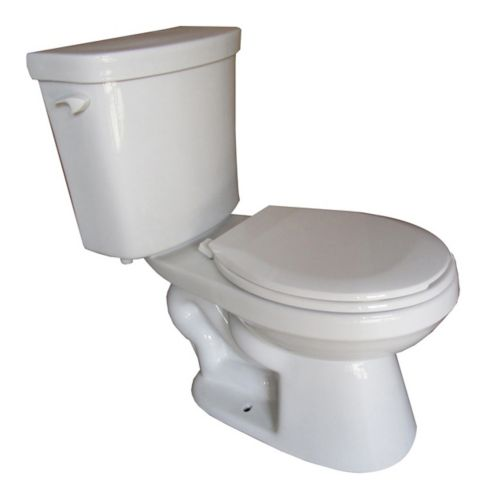 Foremost Elyse Round Bowl All-in-One Toilet, 6-L, 2-pc Product image