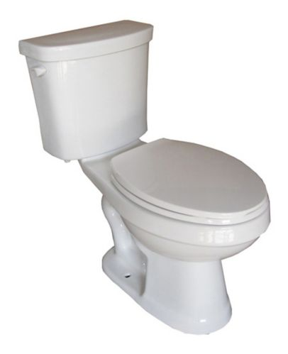 Foremost Huntley Elongated Bowl All-in-One Toilet, 6-L, 2-pc Product image