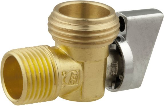 Angle Valve 1/2-in Female Solder X 1/2-in MIP X Male Garden Hose Thread Product image