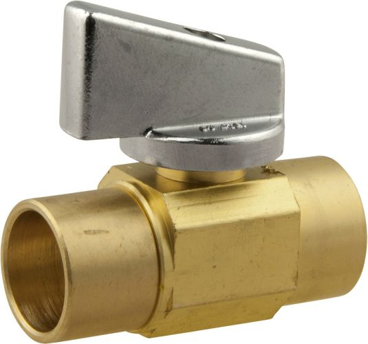 Straight Valve 1/2 x 1/2-in Female Solder Product image