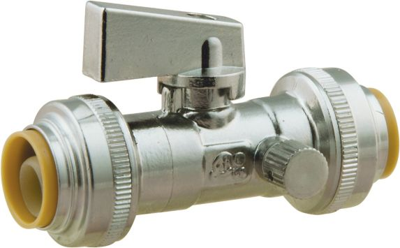 Straight Valve 1/2-in Nominal Push Connect X 1/2-in Nominal Push Connect Product image