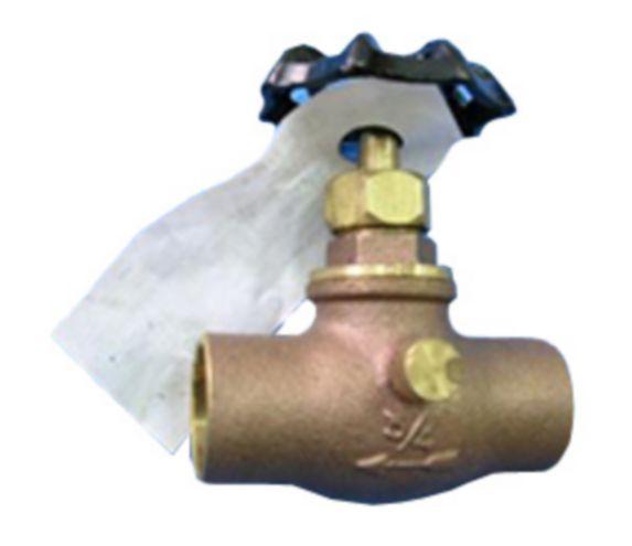Robinet à compression PlumbShop en cuivre Image de l'article