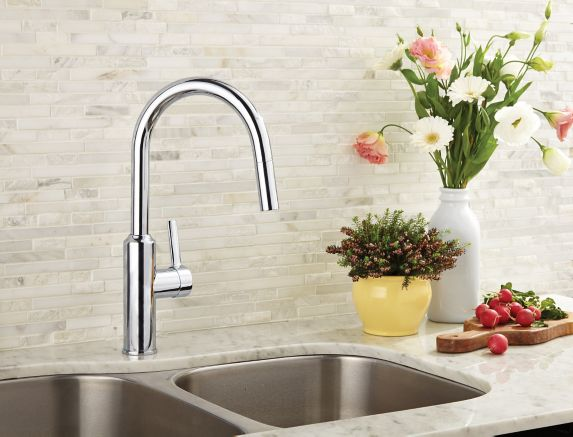 Danze Colby 1-Handle Kitchen Faucet, Chrome Product image