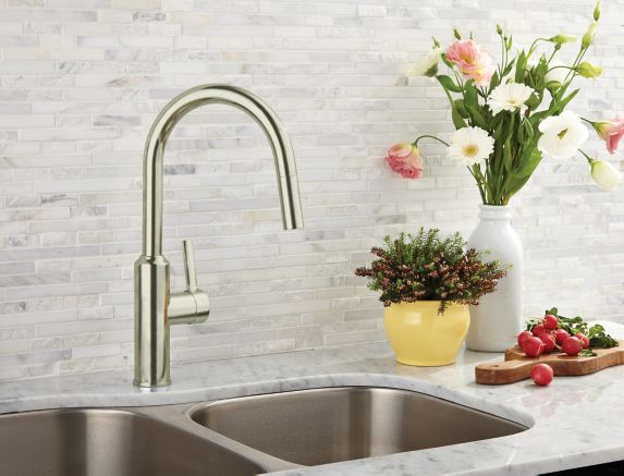 Cuisinart Colby Kitchen Faucet, Brushed Nickel Product image