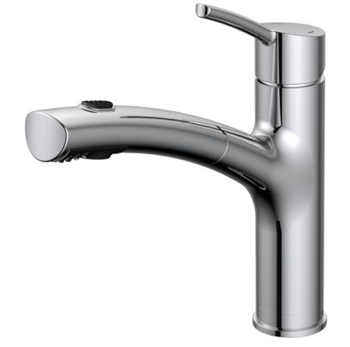Danze Pull-Out Kitchen Faucet, Chrome Product image