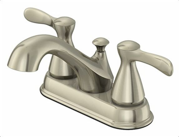Danze 2-Handle Lavatory Faucet, Brushed Nickel Product image