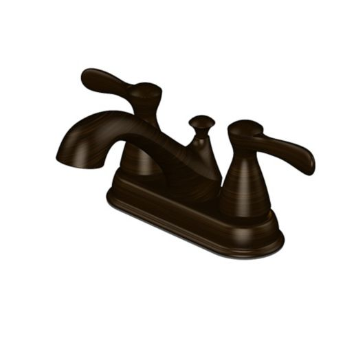 Danze 2-Handle Lavatory Faucet, Oil Rubbed Bronze, 4-in Product image