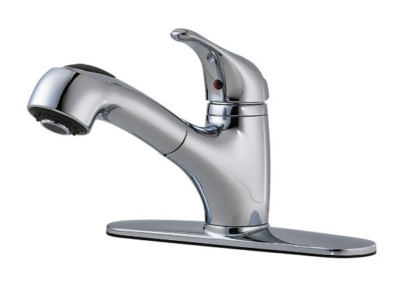 Peerless Shaw Pull Out Kitchen Faucet, Chrome Product image