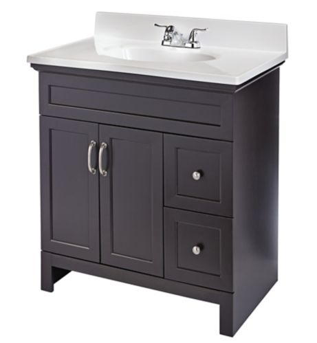 For Living Beacon Hill Single Sink Bathroom Vanity, Espresso Product image