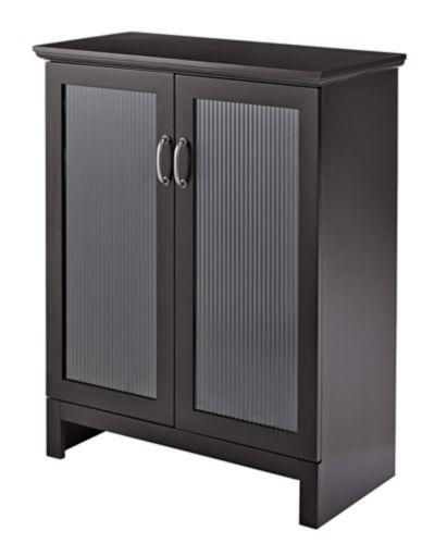 For Living Beacon Hill 2-Door Bathroom Floor Cabinet, Espresso Product image