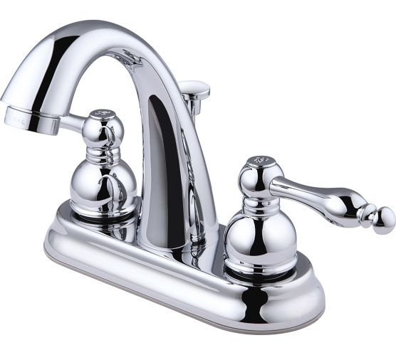 Peerless 2-Handle Lavatory Faucet, Chrome, 4-in Product image