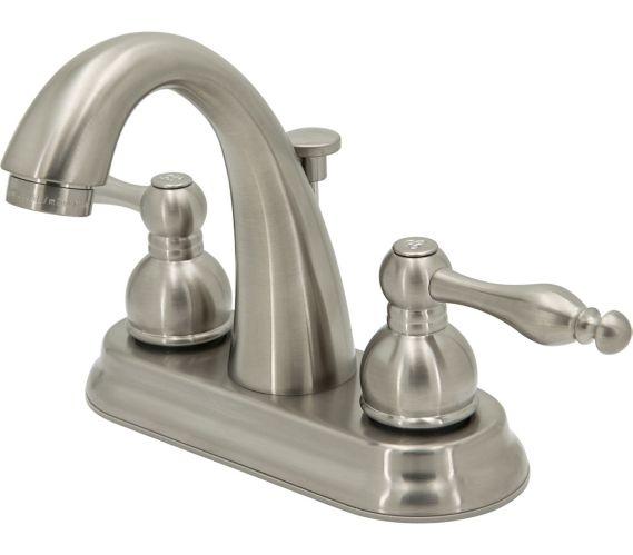 Peerless 2-Handle Lavatory Faucet, Brushed Nickel, 4-in Product image